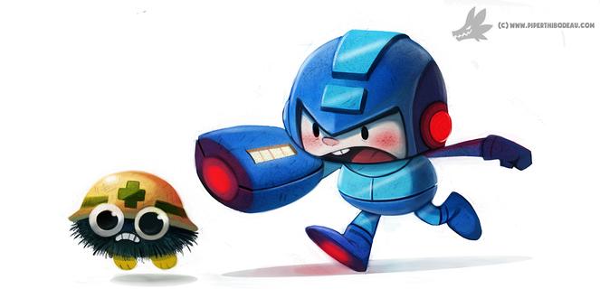 Фото Персонажи из игры Mega Man, by Cryptid-Creations