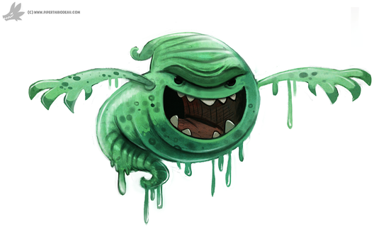 Фото Slime / Лизун из фильма Ghostbusters / Охотники за привидениями, by Cryptid-Creations
