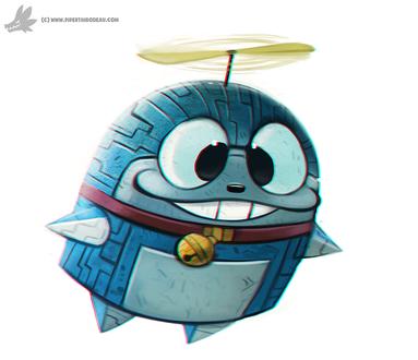 Фото Doraemon / Дораэмон из одноименного аниме, by Cryptid-Creations