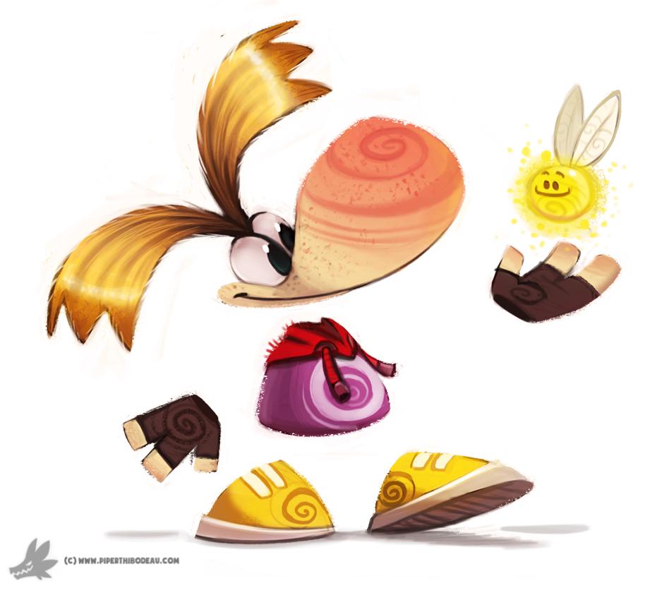 Фото Персонаж из серий игр Rayman, by Cryptid-Creations