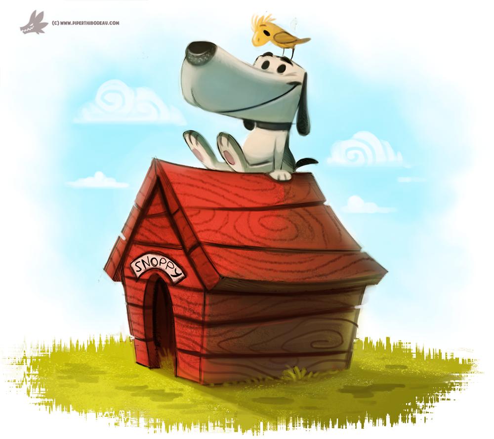 Фото Snoopy / Снупи из мультфильма The Peanuts / Снупи и мелочь пузатая, by Cryptid-Creations