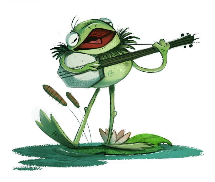 Надписью люблю, лягушка картинка нарисовать смешную