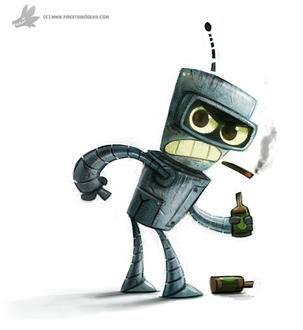 Фото Bender / Бендер из мультсериала Futurama / Футурама