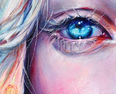 Фото Голубой глаз девушки, автор Bridget G
