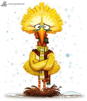 Фото Big Bird / Большая Птица из телесериала Sesame Street / Улица Сезам, by Cryptid-Creations
