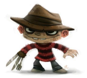 Фото Freddy Krueger / Фредди Крюгера из серии фильмов A Nightmare on Elm Street / Кошмар на улице Вязов, by Cryptid-Creations