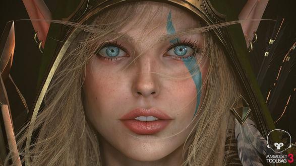 Фото Alleria Windrunner / Аллерия Ветрокрылая из игры World of Warcraft / Мир военного ремесла