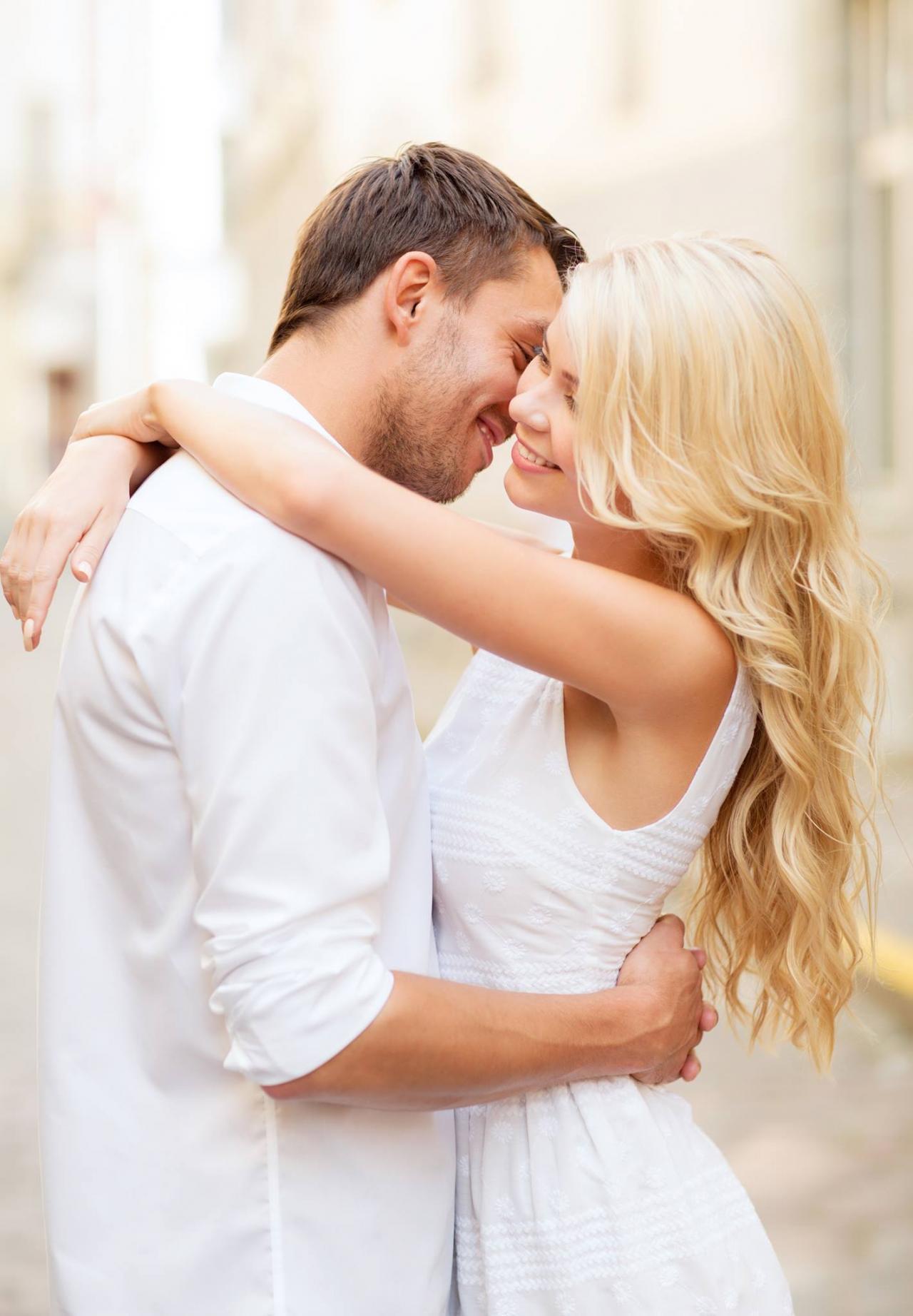 Фото Счастливая влюбленная пара