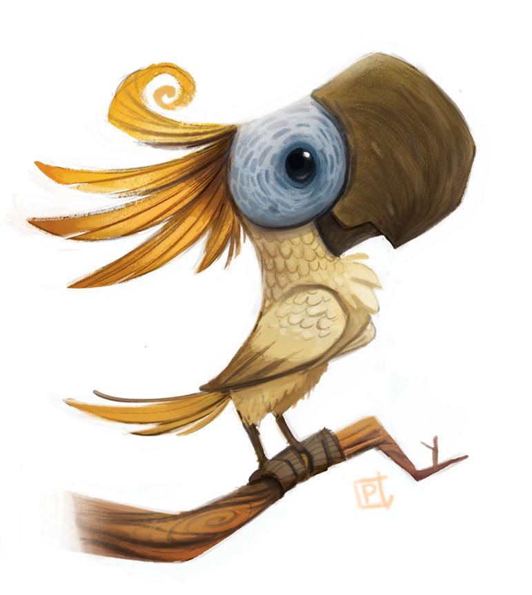 Рисунки смешных попугайчиков пачка