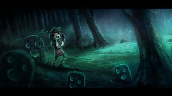 Фото Потерявшейся мальчик в лесу, by Cryptid-Creations
