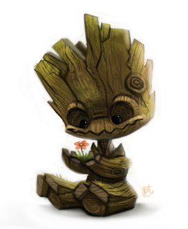 Фото Groot / Грут из фильма Guardians of the Galaxy / Стражи Галактики, by Cryptid-Creations