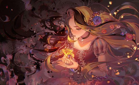 Фото Rapunzel / Рапунцель из мультфильма Tangled / Рапунцель запутанная история, by kawacy