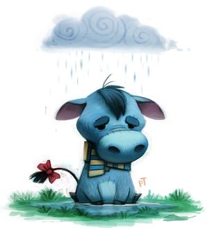 Фото Eeyore / Иа-Иа из мультсериала Winnie-the-Pooh / Винни-Пух, by Cryptid-Creations