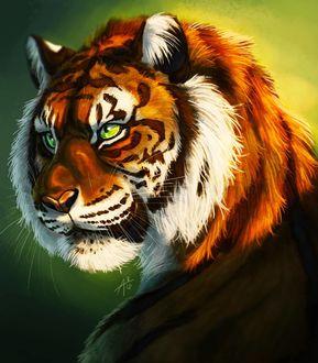 Фото Рисованный тигр, by ARVEN92