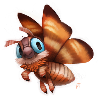 Фото Персонаж из фильма Mothra / Мотра, by Cryptid-Creations