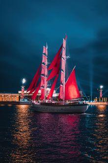 Фото Алые Паруса в Санкт-Петербурге, фотограф Андрей Михайлов