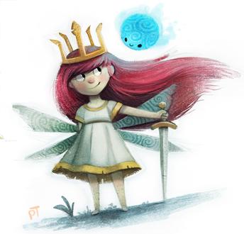 Фото Маленькая девочка с крыльями, by Cryptid-Creations