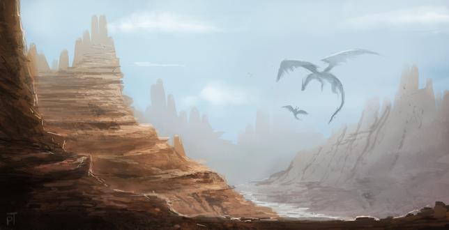 Фото Драконы в небе, by Cryptid-Creations