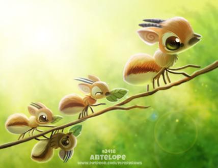 Фото Антилопа в виде муравьев (Antelope), by Cryptid-Creations