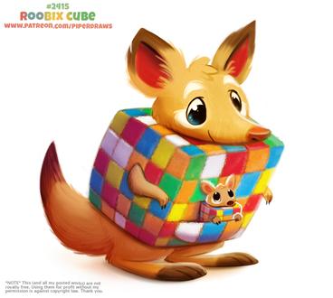 Фото Кубик-рубки кенгуру (Roobix Cube), by Cryptid-Creations