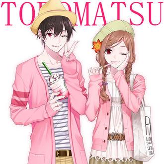 Фото Matsuno Todomatsu и Todoko из аниме Дядька Осомацу / Osomatsu-san