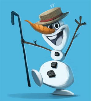 Фото Снеговик Olaf / Олаф из мультфильма Frozen, Disney / Холодное сердце, Дисней, by Cryptid-Creations