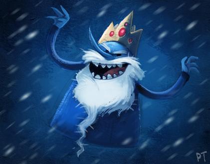 Фото Ice King / Снежный Король из мультсериала Adventure Time / Время Приключений, by Cryptid-Creations