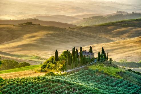 Фото Утро в Тоскани, Италия, by Stefano Caporali
