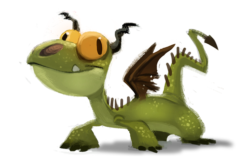 Фото Дракон из из мультфильма How to Train Your Dragon / Как приручить дракона, by Cryptid-Creations