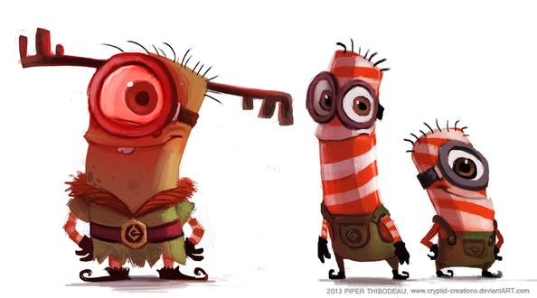 Фото Персонажи из мультфильма Minions / Миньоны, by Cryptid-Creations