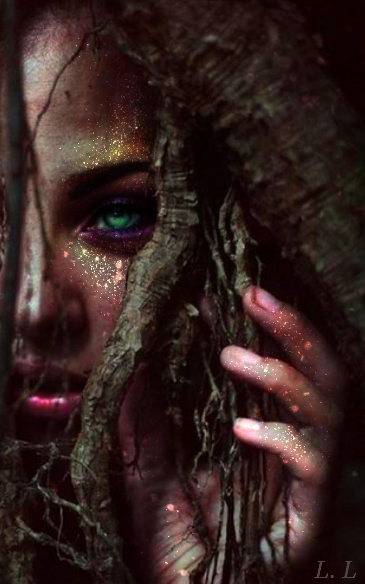 Фото Девушка с изумрудными глазами, by Micaela Brandoni
