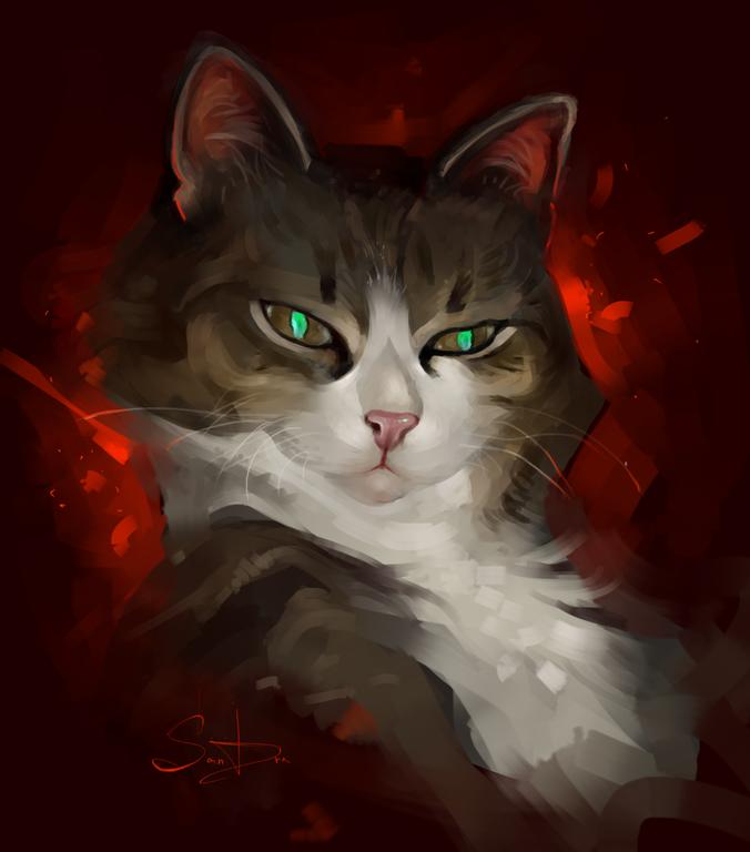 Фото Зеленоглазый кот, by SalamanDra-S