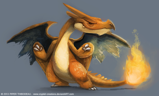 Фото Charizard / Чаризард из аниме Pokemon / Покемон, by Cryptid-Creations