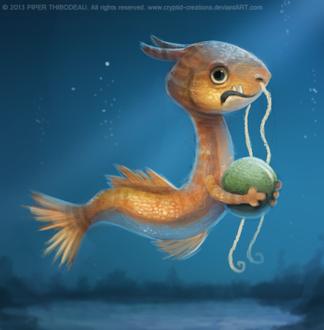 Фото Морской дракон под водой, by Cryptid-Creations