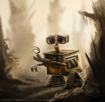 Фото WALL-E / ВАЛЛ·И из одноименного мультфильма, by Cryptid-Creations