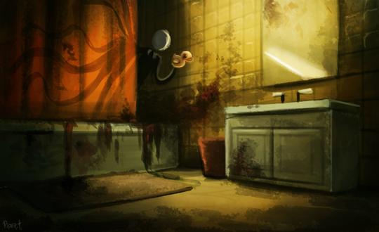 Фото Некто в ванной с уточкой, by Cryptid-Creations