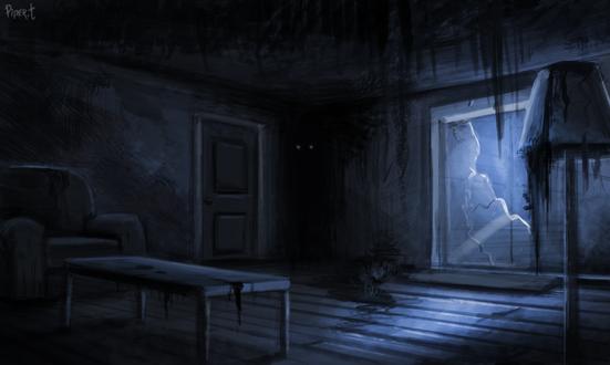 Фото Пугающая комната, by Cryptid-Creations