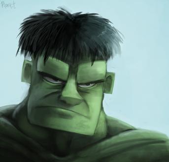 Фото Hulk / Халк из из одноименного фильма, by Cryptid-Creations