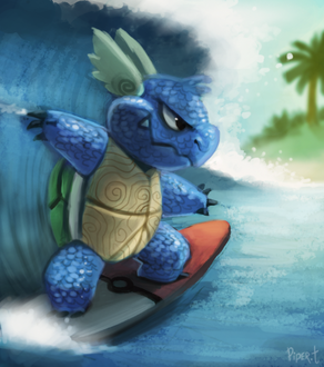 Фото Wartortle / Вартортл из аниме Pokemon / Покемон, by Cryptid-Creations