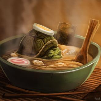Фото Черепаховый суп, by Cryptid-Creations