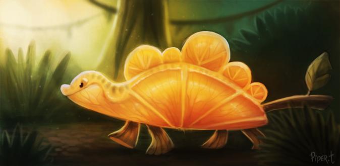 Фото Апельсиновый дракончик, by Cryptid-Creations