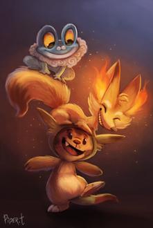 Фото Персонажи из игры Pokemon / Покемон, by Cryptid-Creations