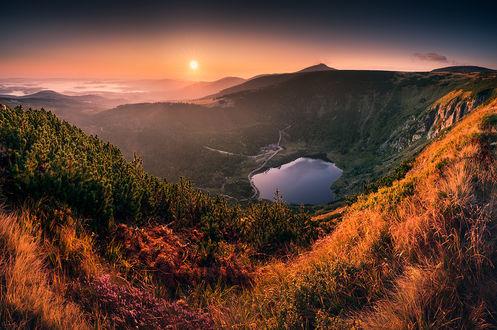 Фото Утро на озере, Фотограф Karol Nienartowicz