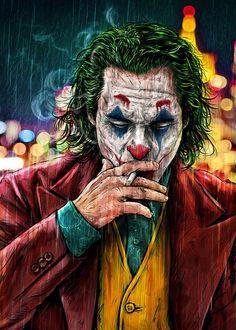 Фото Джокер / Joker из фильма Темный Рыцарь / Dark Knight, by Arcadia Wiryawan