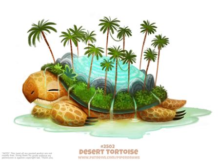 Фото Черепаха остров (Desert Tortoise), by Cryptid-Creations