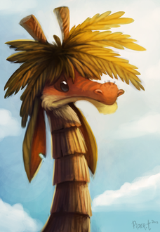 Фото Дракон-пальма, by Cryptid-Creations