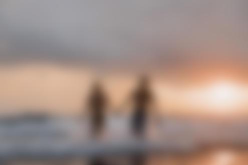 Фото Парень с девушкой бегут по морю, фотограф Стас Моисеев