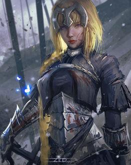 Фото Jeanne dArc / Жанна дАрк / Jeanne Alter / Альтер-Жанна из игры Fate / Grand Order, by ZeD