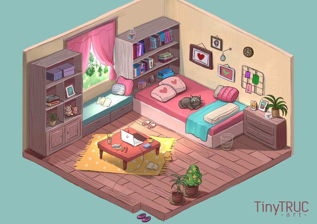 Фото Изометрическая комната, by TinyTruc