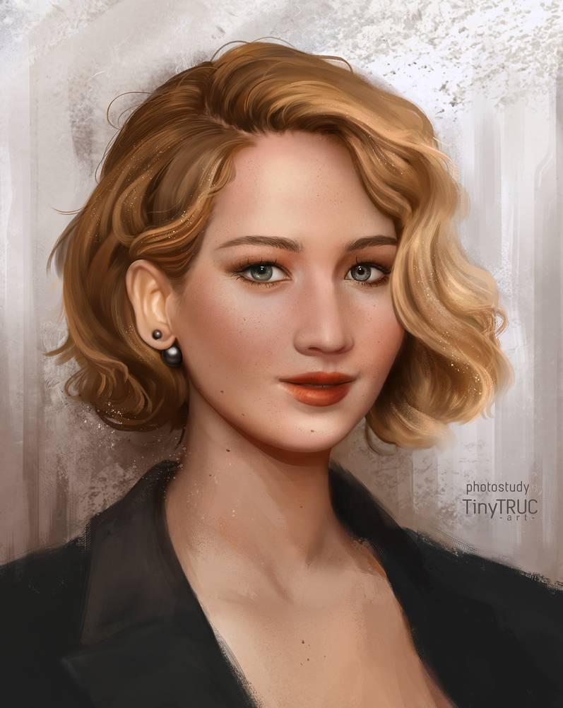 Фото Американская актриса кино и телевидения Jennifer Lawrence / Дженнифер Лоуренс, by TinyTruc